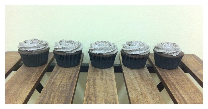 Cupcakes oreo sin gluten 2